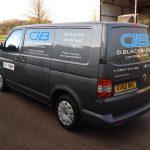 D Blackburn Contractors van
