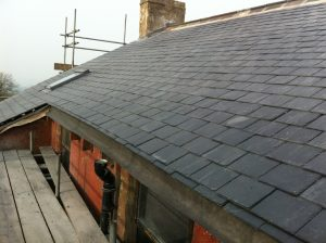 Local re-roofing company Cliviger