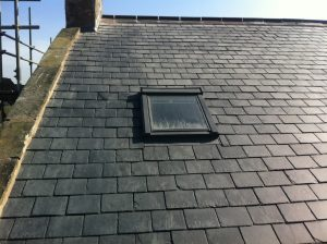 Slate roofing contractors Brockhall Village